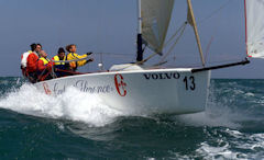 volvo cup 2008 al via la stagione monotipi optimist