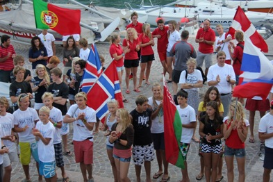 european youth sailing games day