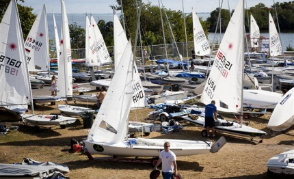 world best olympic paralympic sailors invade coconut grove