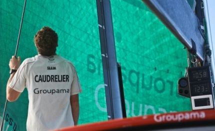 groupama ambitions et emotions de charles caudrelier