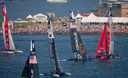 america cup oracle team usa senza rivali