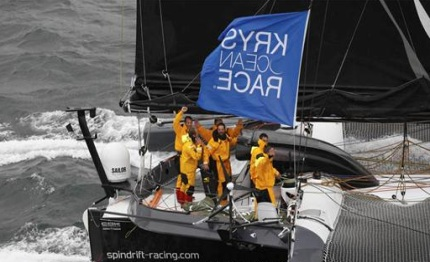 spindrift racing win the krys ocean race new york to brest in under days