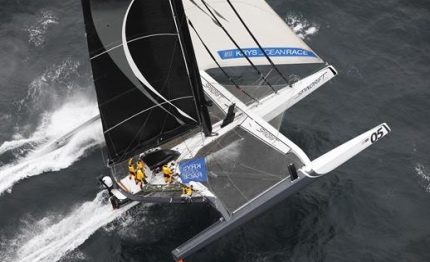krys ocean race podium complete close finish