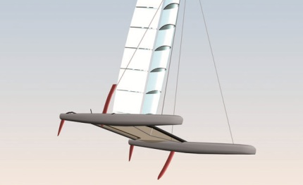 hydros announces that construction has begun on its yacht for the little america cup