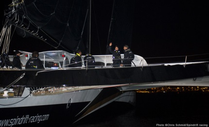 spindrift vince il fastnet in tempo reale