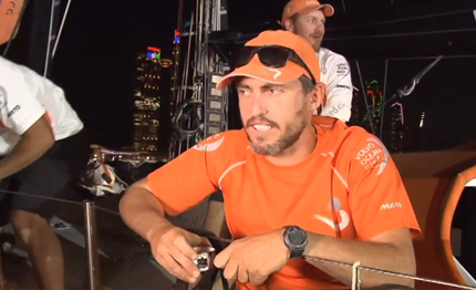 video volvo ocean race intervista alberto bolzan