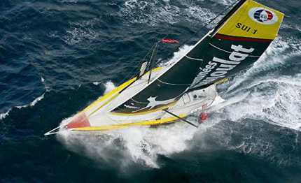 barcelona world race cheminees poujoulat entra in pacifico