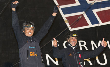 barcelona world race secondo posto per neutrogena