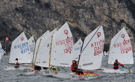 meeting del garda optimist domenica di pasqua con finalissime