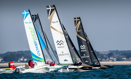 spindrift racing wins the spi ouest france