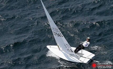 mondiale laser standard il titolo all 8217 inglese nick thompson