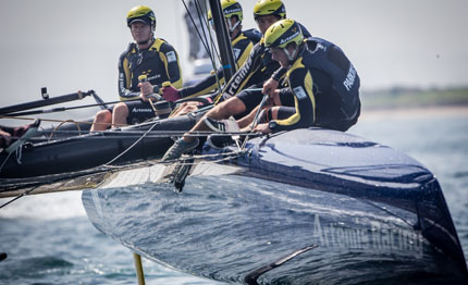 oman domani le prime regate delle louis vuitton america cup world series
