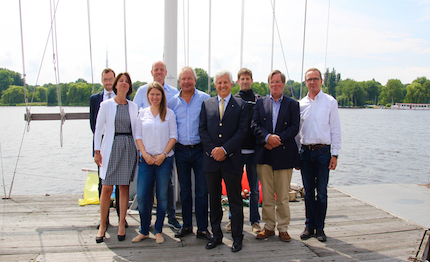 la lega italiana vela tra fondatori della international sailing league association isla