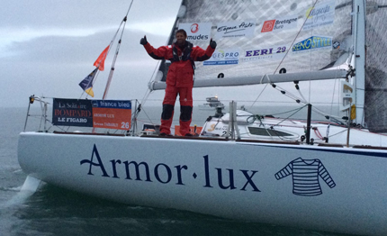 solitaire du figaro cowes vince erwan tabarly