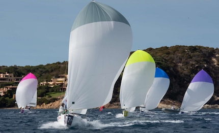 al via porto cervo audi italian sailing league