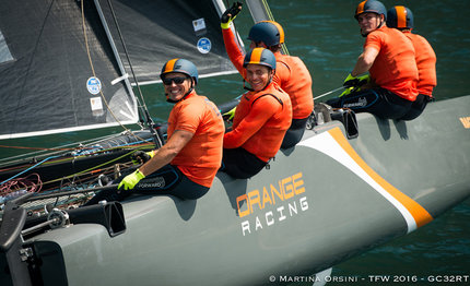 gc32 outsider orange racing sews up long distance race