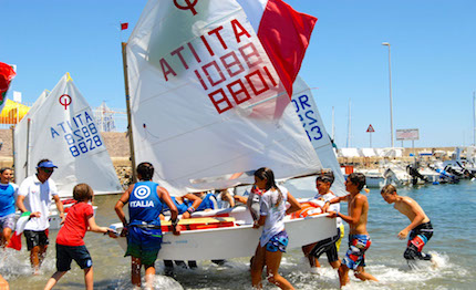 gran finale dell europeo optimist crotone