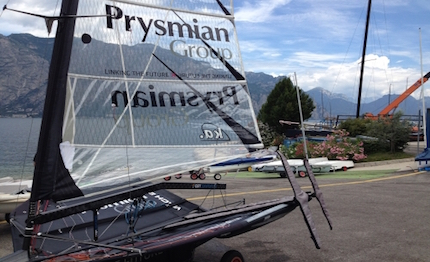 giancarlo pedote seconda regata in moth bordo di prysmian 4171