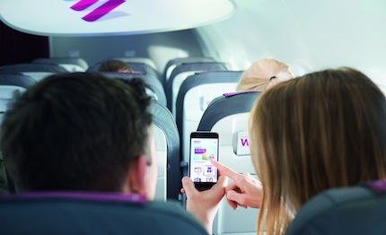 eurowings introduce in collaborazione con blockbuster 8217 intrattenimento di bordo sui dispositivi mobili