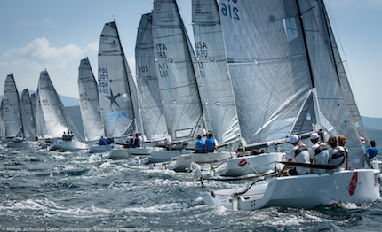 wildman conserva la leadership del melges 20 russian open