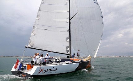 8217 anemos team 232 pronto per la 37 176 rolex middle sea race