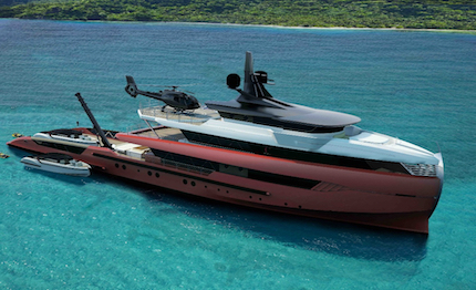columbus yachts svela in nuovo tomahawk 52m explorer concept