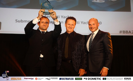 il gruppo ferretti premiato ai quot boat builder awards for business achievement quot 2016