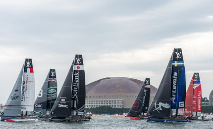 stage set for final races of louis vuitton america cup world series
