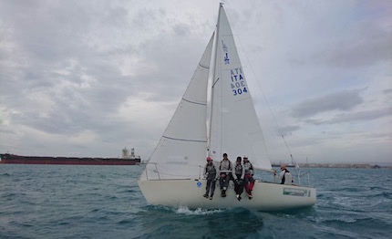 il j24 five for fighting di de bellis vitti masi fa tris all 8217 invernale di taranto