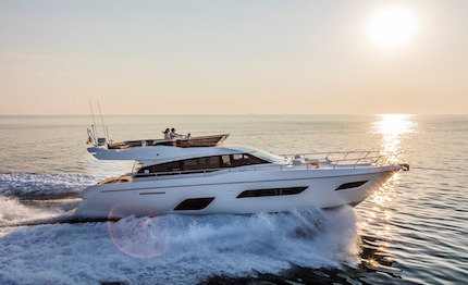 ferretti group al dubai international boat show 2017