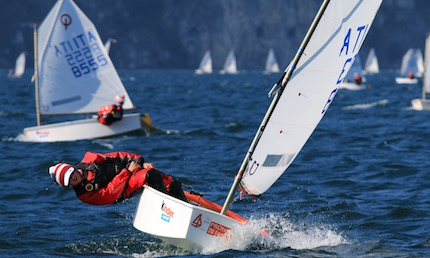 si avvicina il meeting del garda optimist