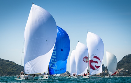 porto venere esordio europeo della melges world league con melges