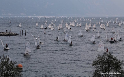 oggi la conclusione del 35 176 meeting del garda optimist