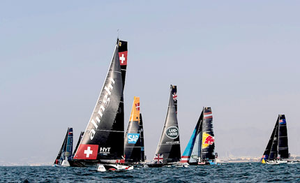 extreme sailing series 2017 alinghi si prepara all act