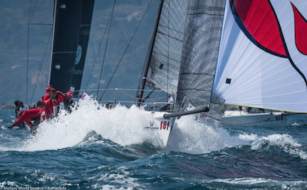 la melges world league entra nel vivo marina di scarlino