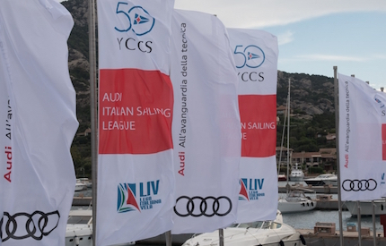 tutto pronto per audi italian sailing league