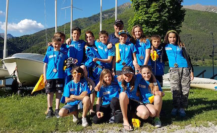 bel week end di regate podi per le squadre optimist laser fraglia vela riva