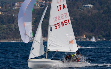 mattia cesana tommaso salvetta qualificati agli europei optimist 420