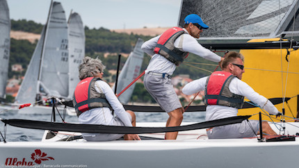 zara nella melges 20 world league comanda la flotta russa