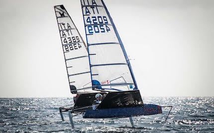 slam sponsor tecnico di the foiling week global tour
