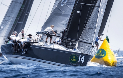 rolex farr 40 worlds plenty allunga in costa smeralda
