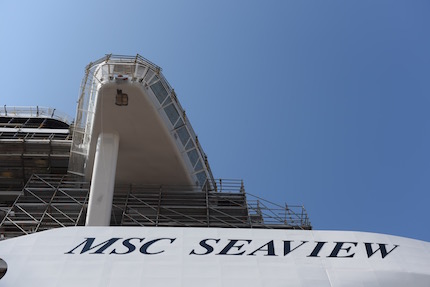 msc crociere fincantieri celebrano il 8220 float out 8221 di msc seaview