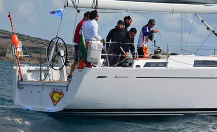 roma giraglia line honours per superg stripptease vince in solitario sir biss in irc