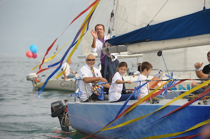 nel week end sul garda la 11 176 children wind cup