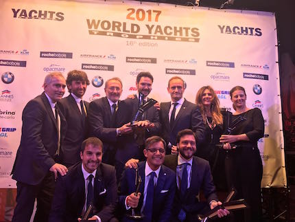 ferretti group cantiere dell anno 2017 ai world yachts trophies