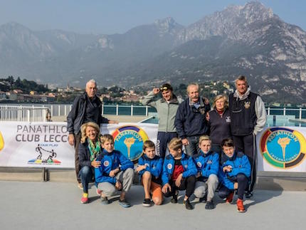 interlaghina optimist di lecco pronta salpare