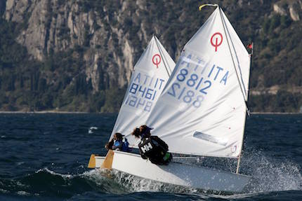 week end tutto optimist in fraglia