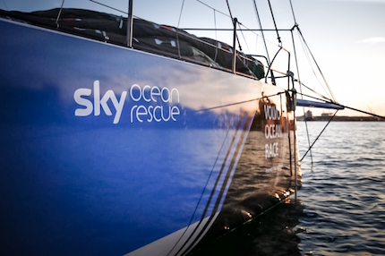 sky ocean rescue partner ufficiale del team turn the tide on plastic