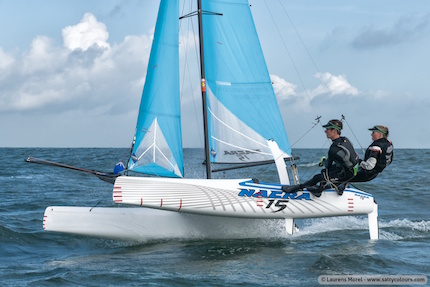 european and african youth qualifier per nacra