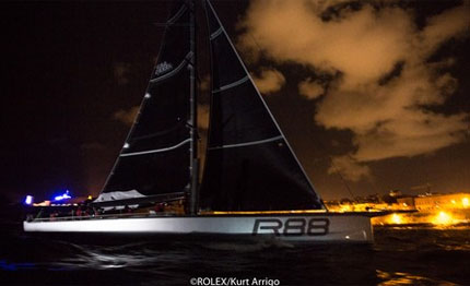 rolex middle sea race line honours per rambler